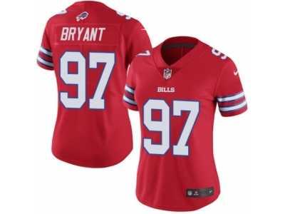 Women  s Nike Buffalo Bills  97 Corbin Bryant Limited Red Rush NFL Jersey 6239cb8b3