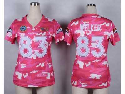 big sale 2ec7d 4b5bf Nike Women Denver Broncos #83 Wes Welker Salute to Service ...