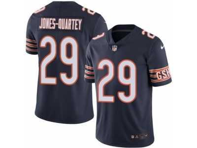 youth nike chicago bears 29 harold jones quartey limited navy blue rush nfl jersey