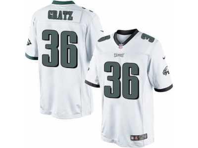 Cheap Youth Nike Philadelphia Eagles #62 Jason Kelce White NFL Jersey