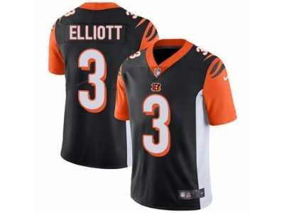 reputable site d9028 b8579 Men  s Nike Cincinnati Bengals  3 Jake Elliott Vapor Untouchable Limited  Black Team