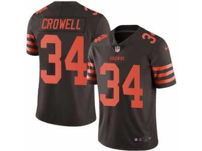 youth nike cleveland browns 34 isaiah crowell limited brown rush rh clintonoakcornerlaundromat com
