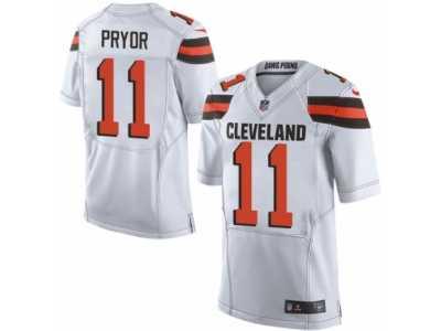 huge selection of 3f6da 2b380 Men's Nike Cleveland Browns #11 Terrelle Pryor Limited White ...