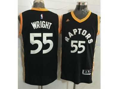 1fdb8c418 Men s Adidas Toronto Raptors  92 Lucas Nogueira Authentic Black ...