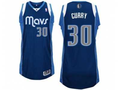 6036e377a1c Men's Adidas Dallas Mavericks #30 Seth Curry Alternate Navy Blue NBA Jersey