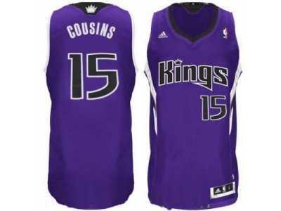 88dd155e1 nba Sacramento Kings  15 DeMarcus Cousins purple Revolution 30 Jersey